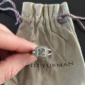 DAVID YURMAN Albion Petite Ring - Prasiolite